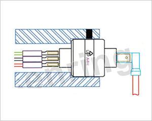 水银导电滑环结构图