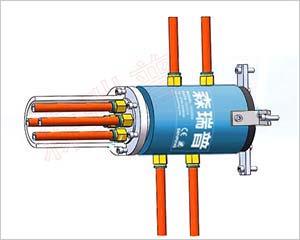 转子法兰气动液压旋转接头安装方式